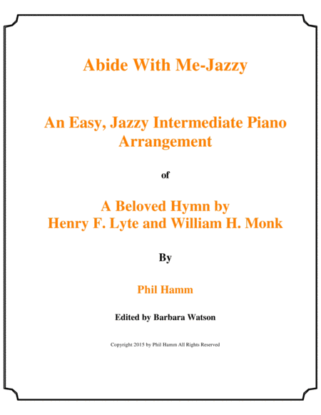 Abide With Me-Jazzy