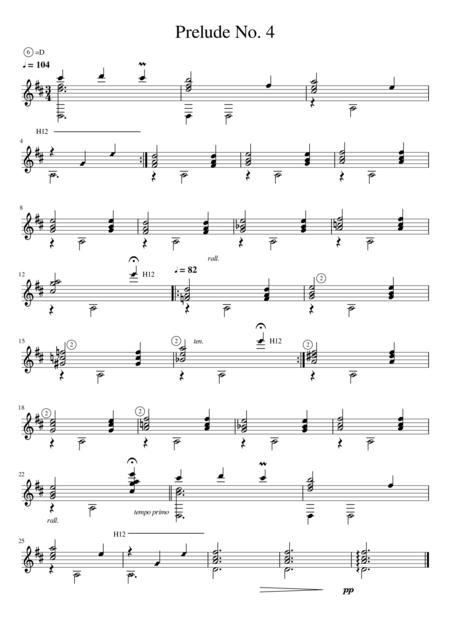 Prelude No. 4