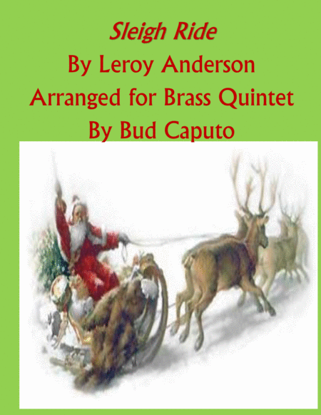 Sleigh Ride for Brass Quintet (w/optional sleigh bells)