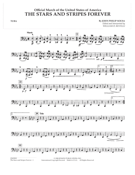 The Stars and Stripes Forever - Tuba
