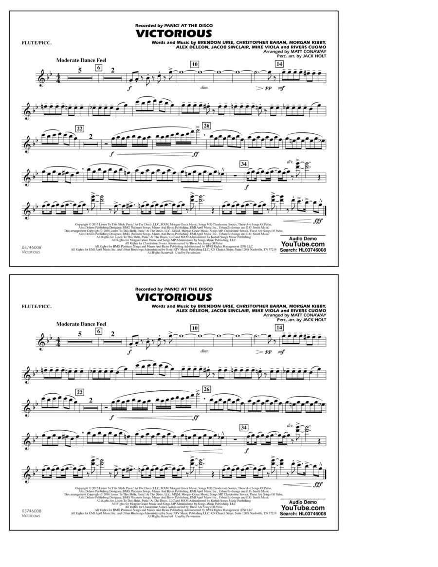 Victorious - Flute/Piccolo