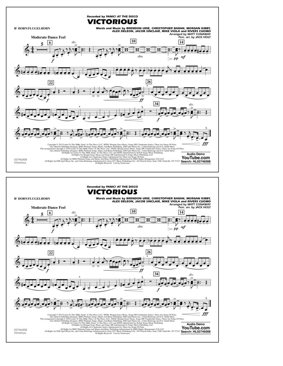 Victorious - Bb Horn/Flugelhorn