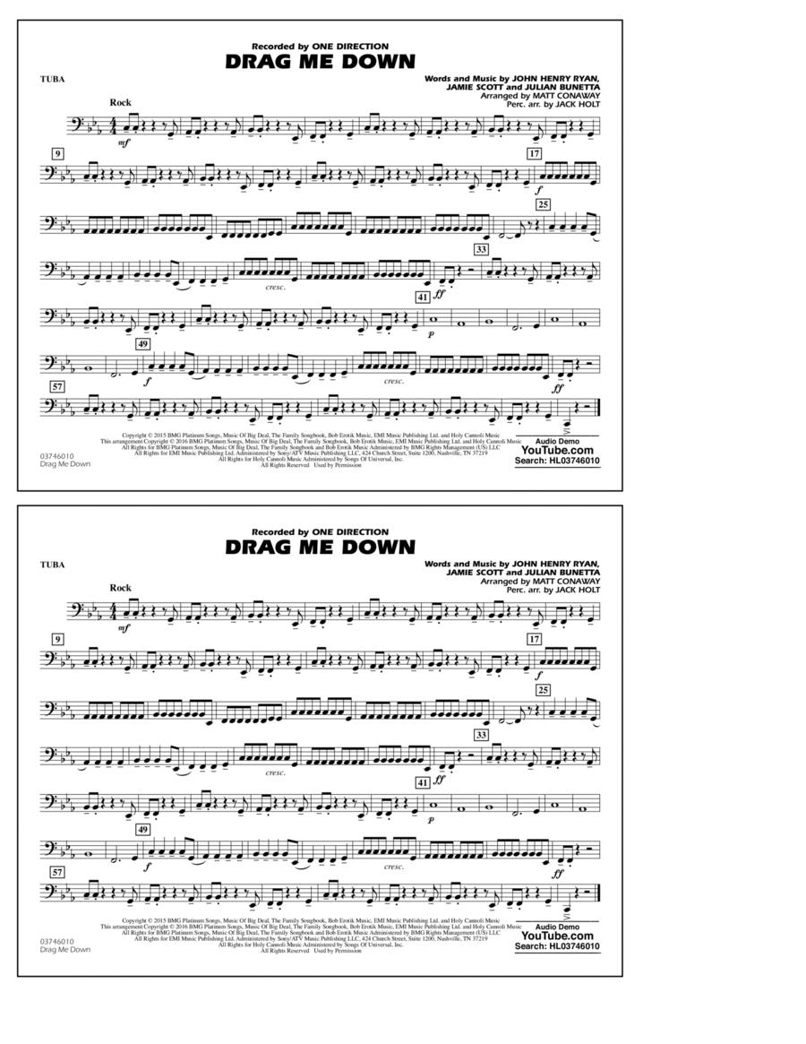 Drag Me Down - Tuba