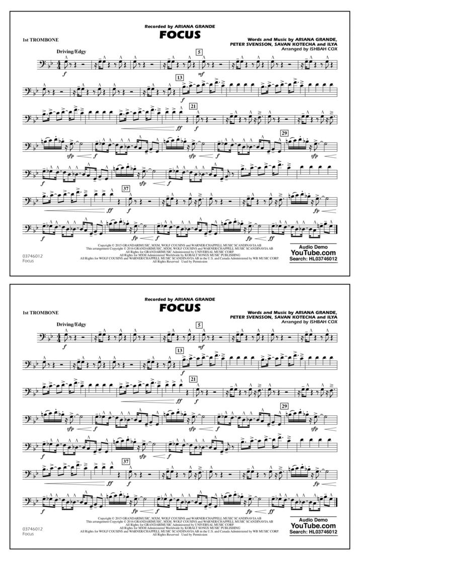 Focus - 1st Trombone