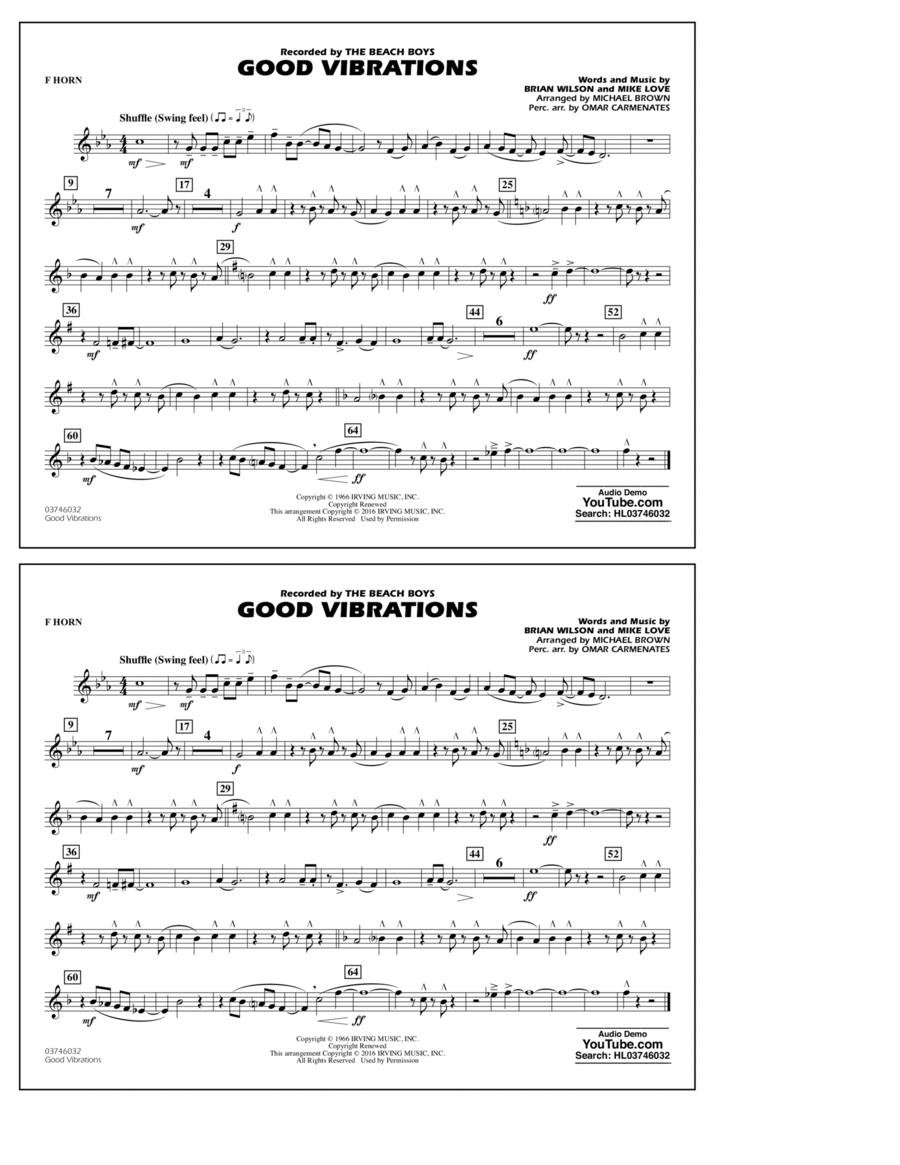 Good Vibrations - F Horn