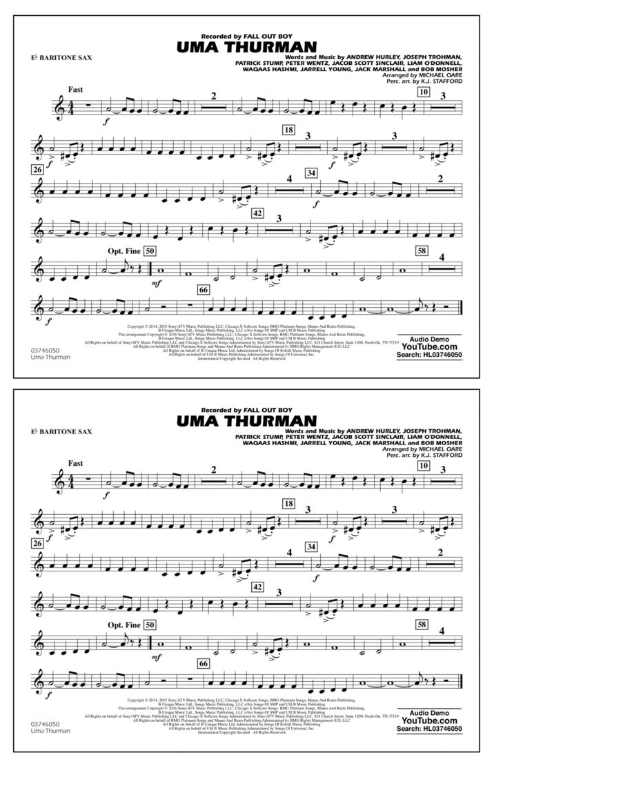 Uma Thurman - Eb Baritone Sax