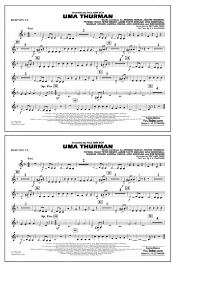 Uma Thurman - Baritone T.C.
