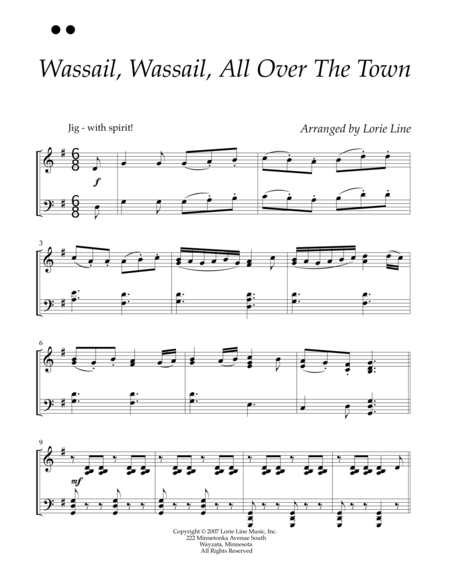 Wassail, Wassail, All Over The Town