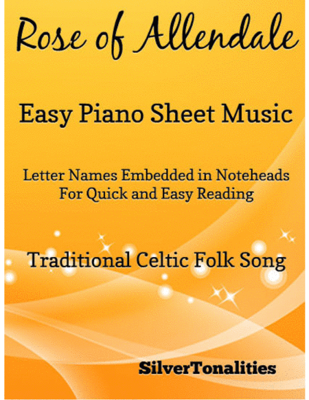 Rose of Allendale Easy Piano Sheet Music