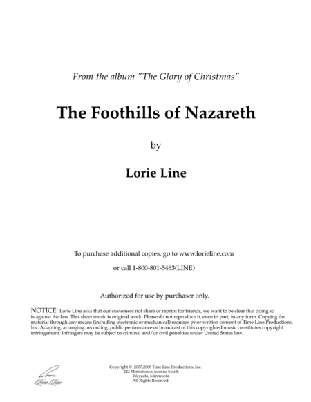 The Foothills Of Nazareth