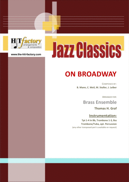 On Broadway - George Benson - funky - Brass Ensemble