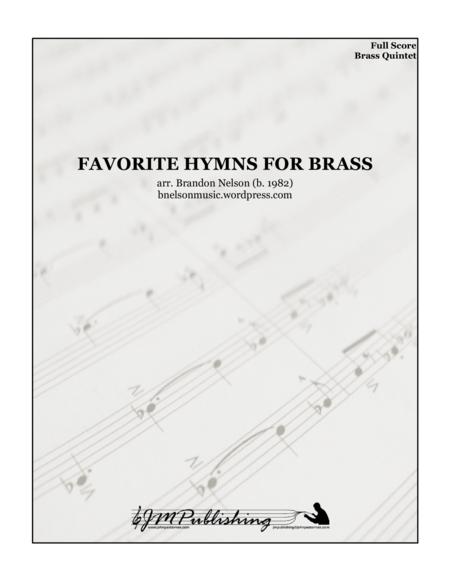 Favorite Hymns for Brass Quintet