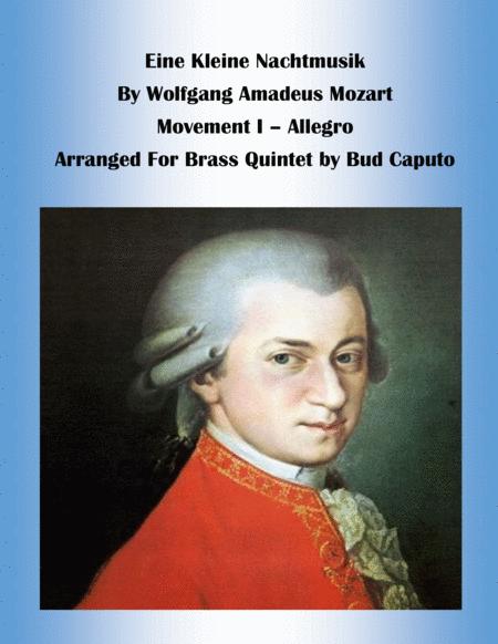 Einie kleine Nachtmusik, Movt. 1 for Brass Quartet