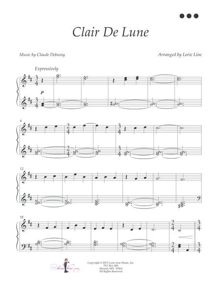 Clair De Lune - EASY!