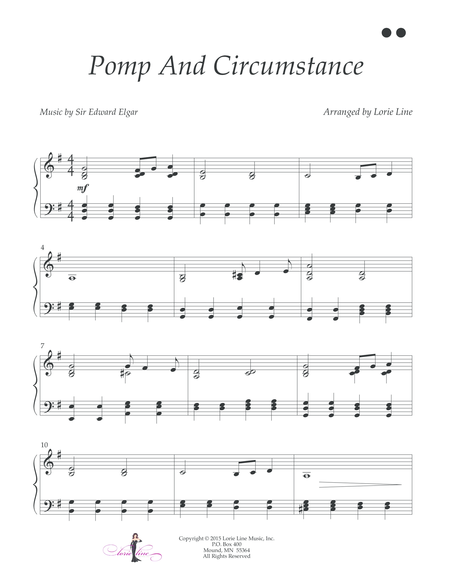 Pomp And Circumstance - EASY!