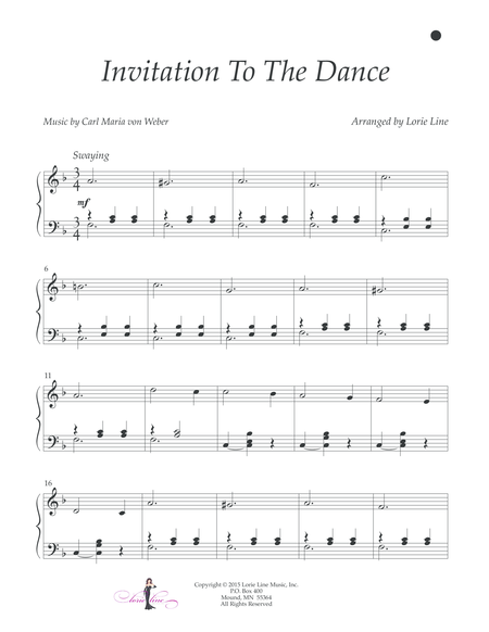 Invitation To The Dance - EASY!