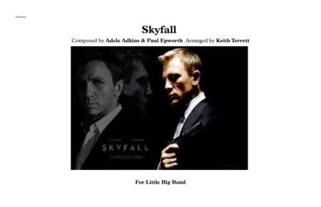 Skyfall for Little Big Band