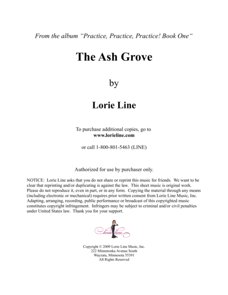 The Ash Grove - EASY!