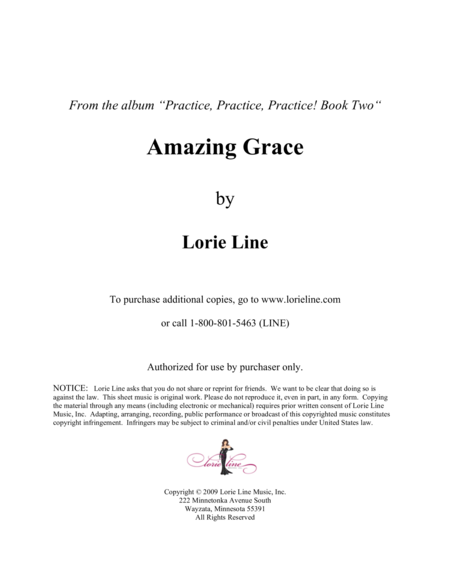 Amazing Grace - EASY!