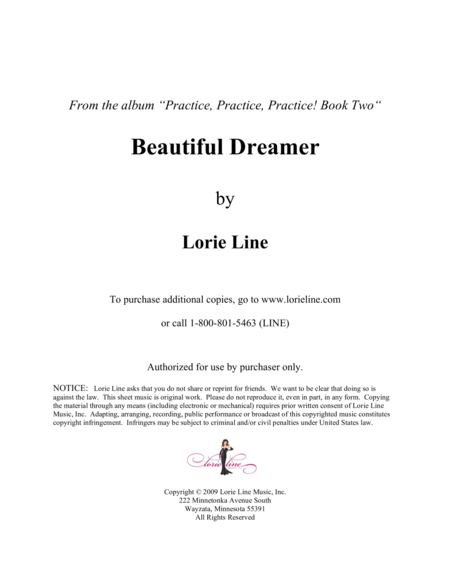 Beautiful Dreamer - EASY!