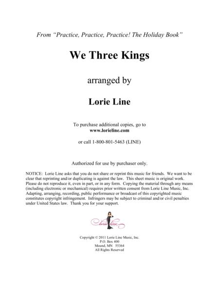 We Three Kings - EASY!