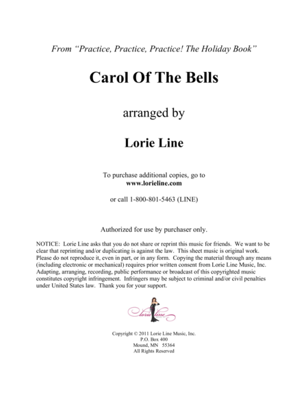 Carol Of The Bells - EASY!
