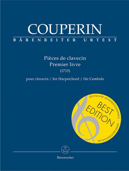 Pieces de clavecin for Harpsichord (Premier livre)