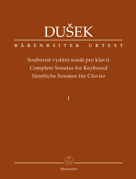 Complete Sonatas for Keyboard (Volume 1)