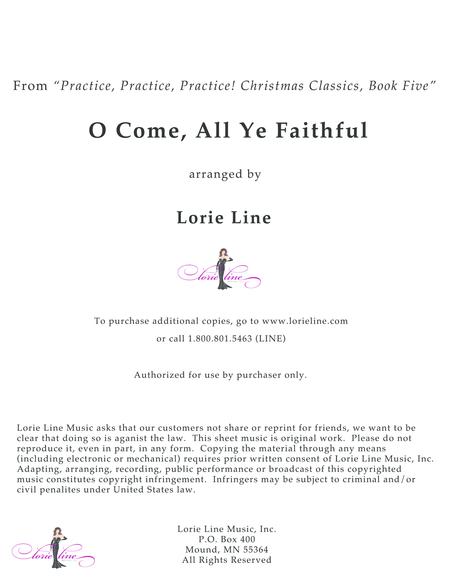 O Come, All Ye Faithful - EASY!