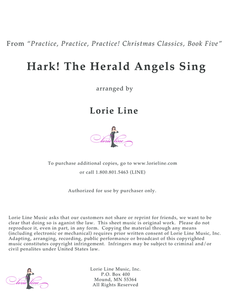 Hark! The Herald Angels Sing - EASY!