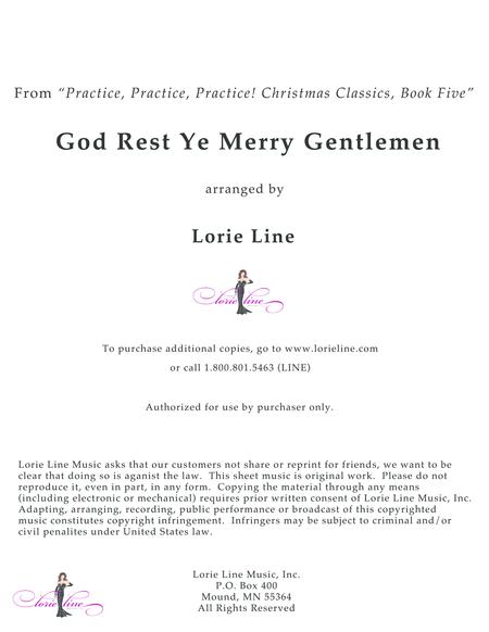 God Rest Ye Merry Gentlemen - EASY!