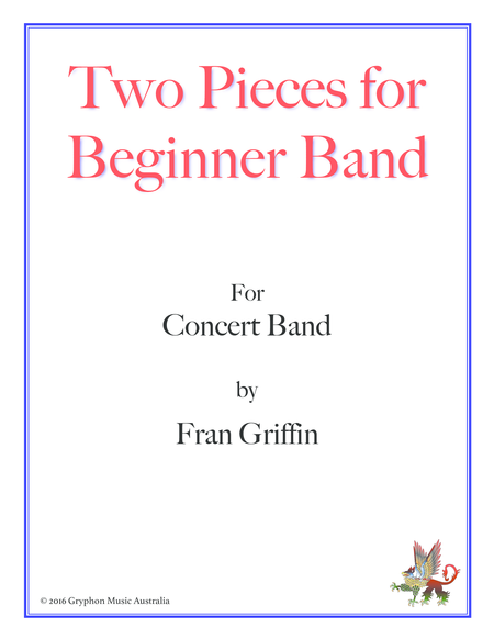 Two Pieces for Beginner Band