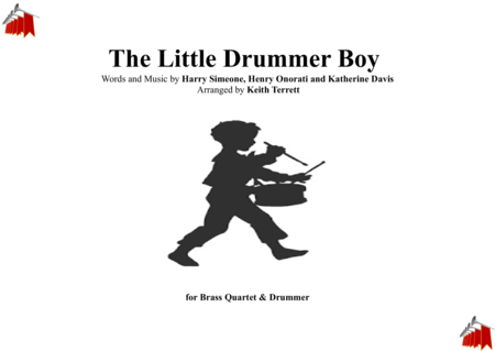 The Little Drummer Boy for Brass Quartet & Drummer