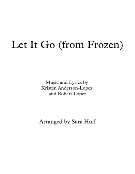 Let It Go (from Frozen) - beginning piano with chords!