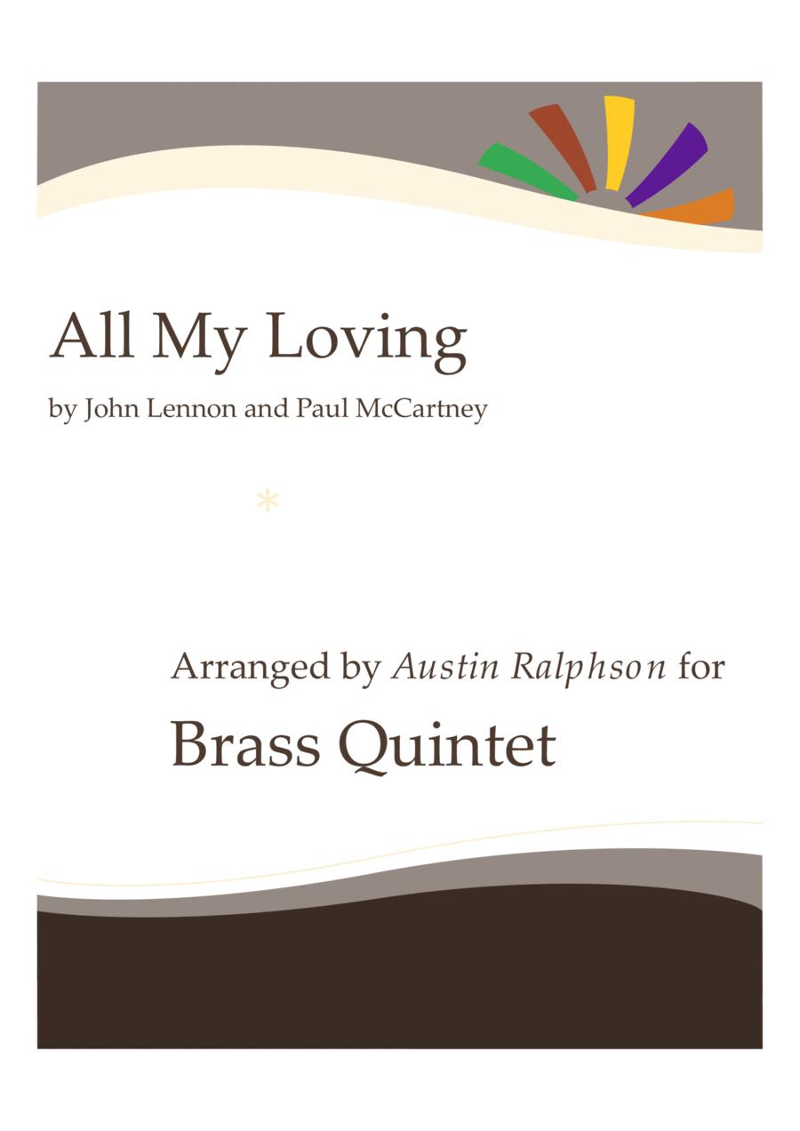 All My Loving - brass quintet