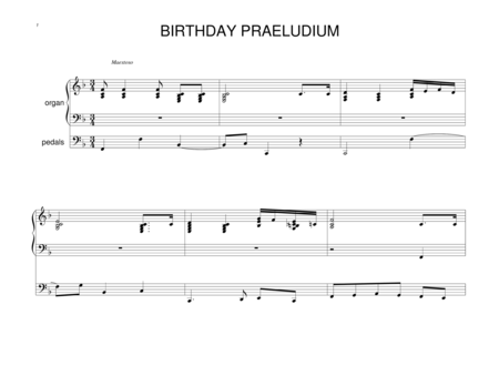 Birthday Praeludium
