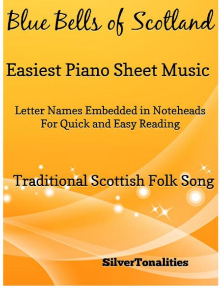 Blue Bells of Scotland Easiest Piano Sheet Music