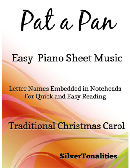 Pat a Pan Easy Piano Sheet Music