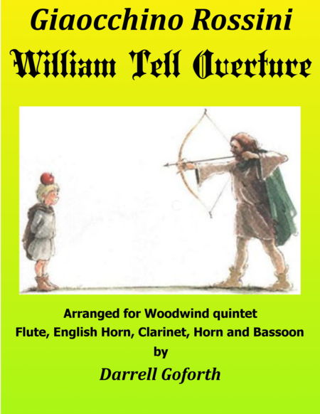 Rossini: William Tell Overture in D for Woodwind Quintet