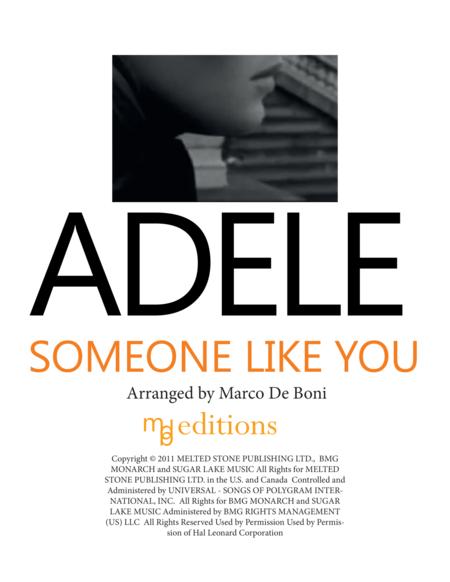 Adele - Someone Like You - Easy Piano