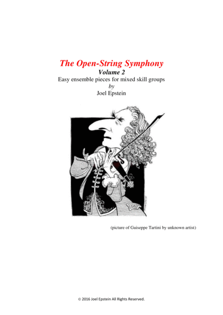 Open-String Symphony 2: easy violin ensemble pieces for mixed skill levels