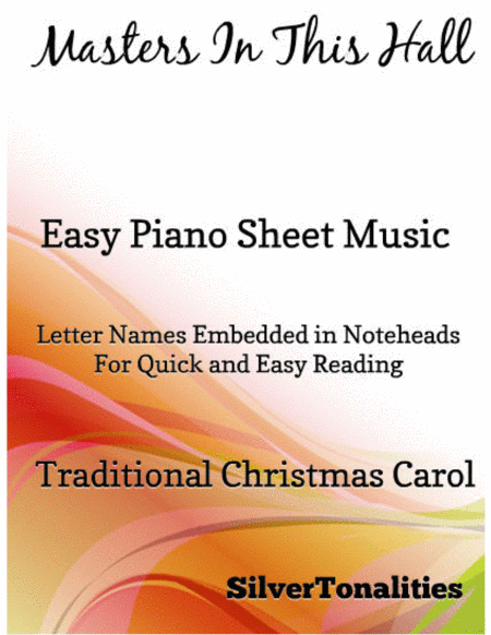 Masters In This Hall Easy Piano Sheet Music