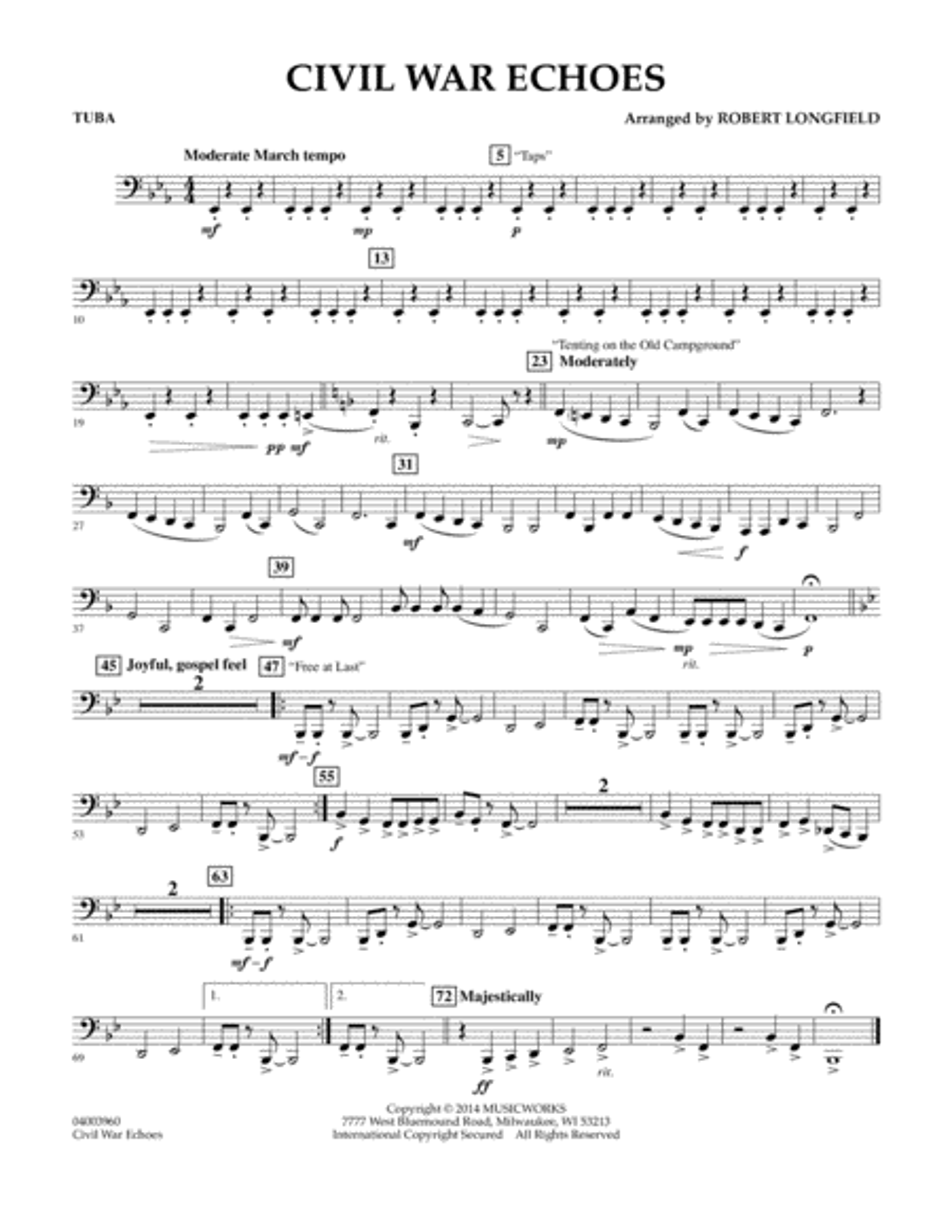 Civil War Echoes - Tuba