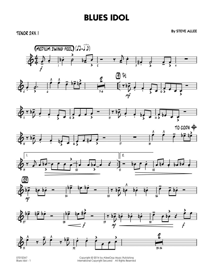 Blues Idol - Tenor Sax 1