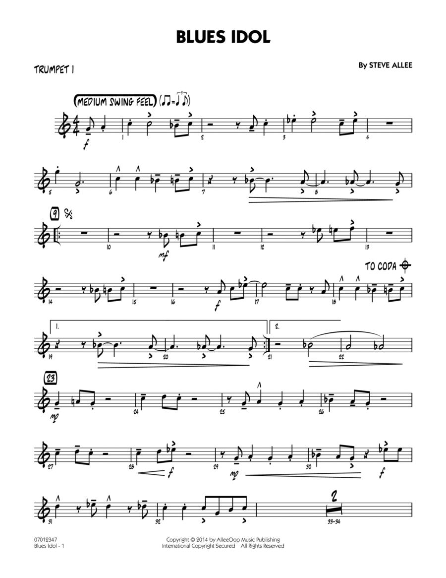 Blues Idol - Trumpet 1