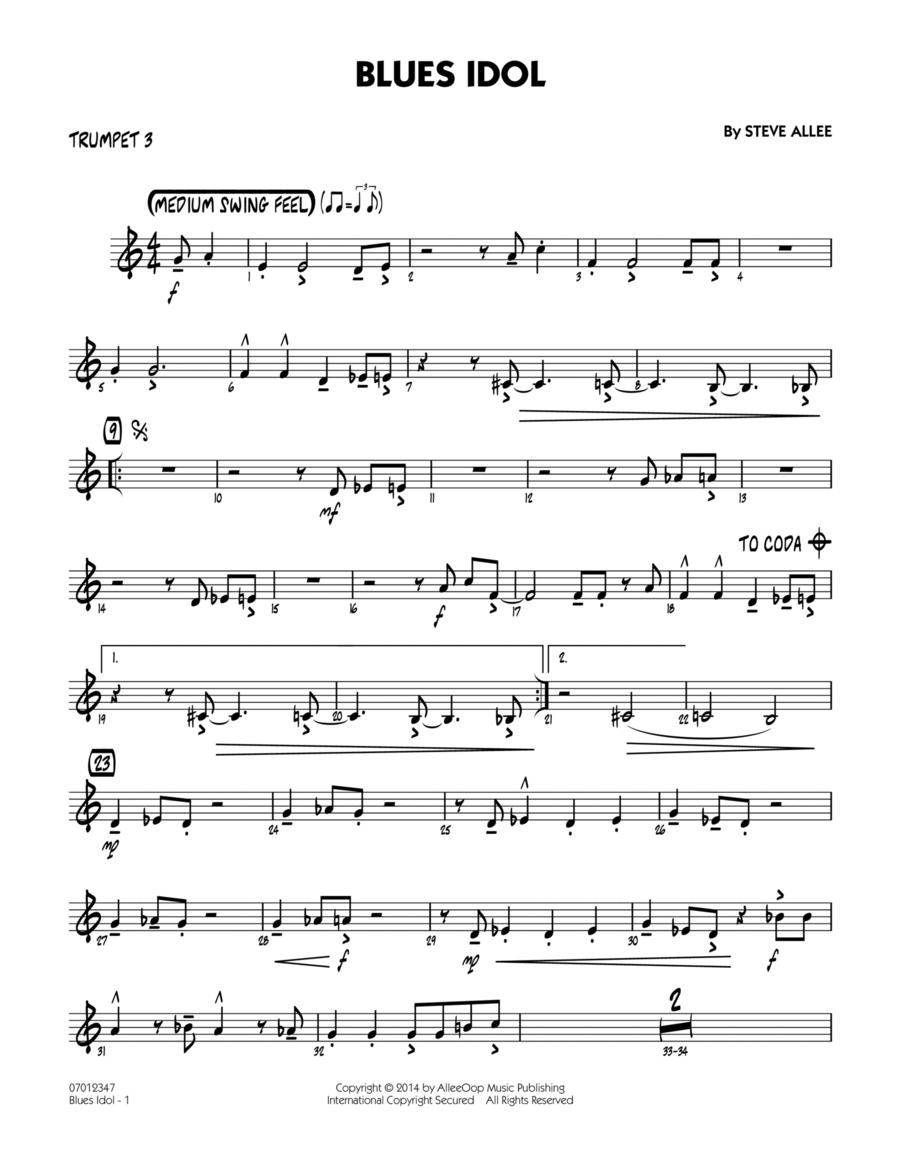 Blues Idol - Trumpet 3