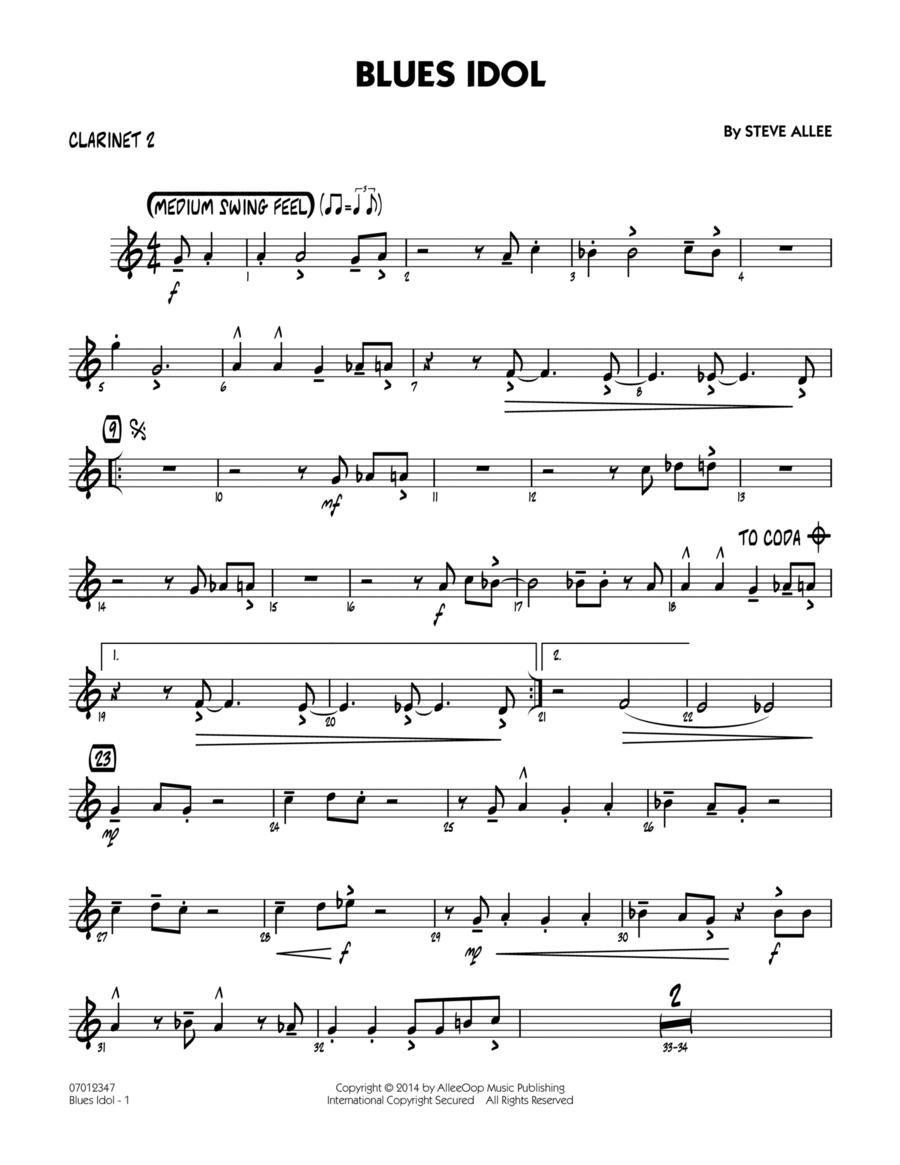 Blues Idol - Bb Clarinet 2