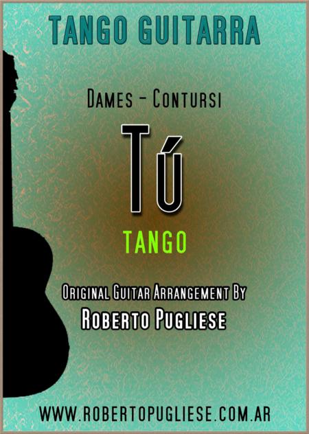 Tu - guitar tango (Dames - Contursi)