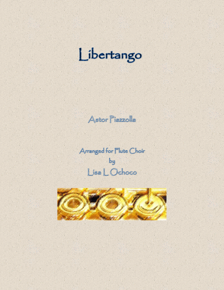 Libertango for Flute Choir