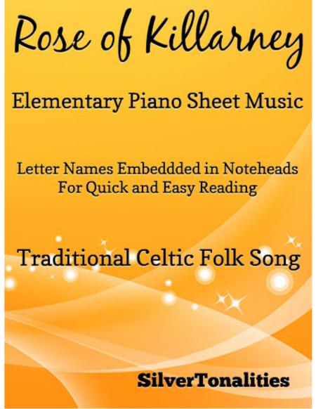 Rose of Killarney Elementary Piano Sheet Music